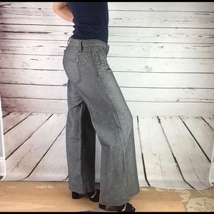 Free People Bell Bottom Trouser Jeans